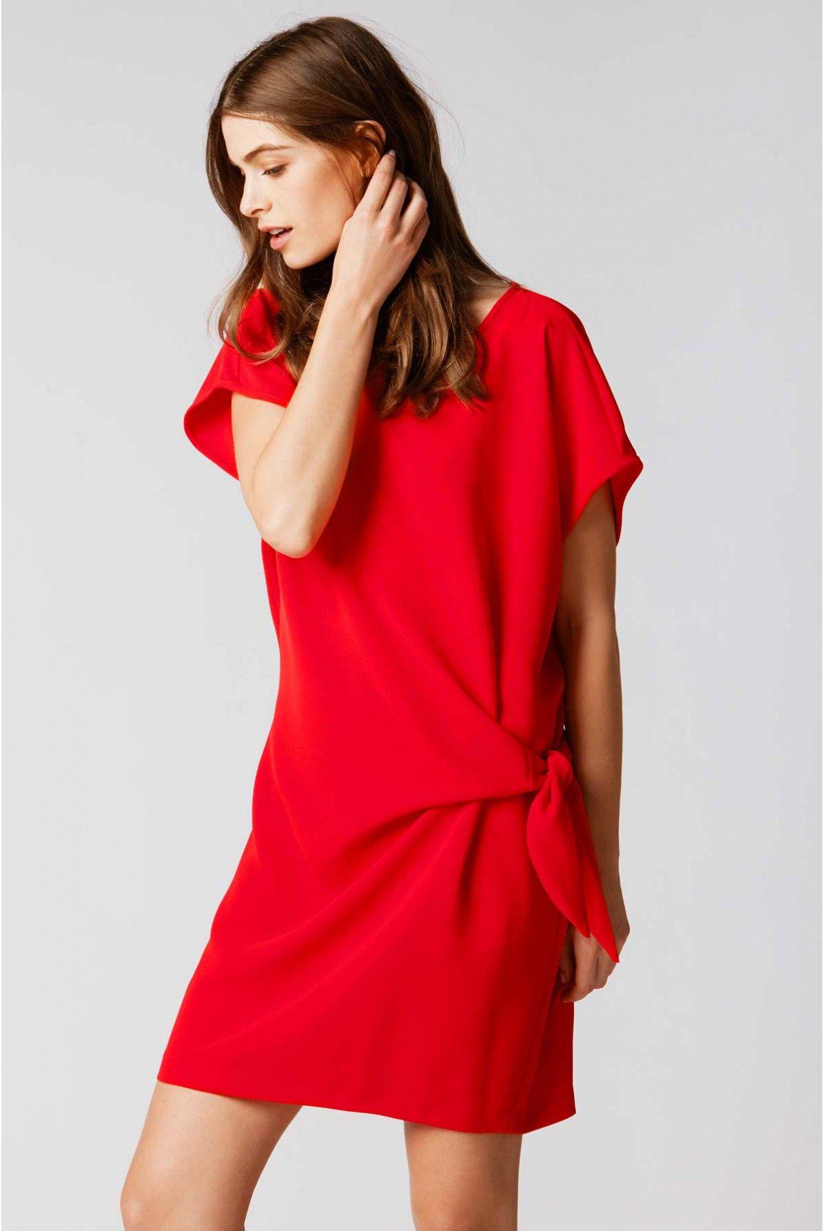 5c6853d0576f8 Robe camden, rouge vif   gerard darel 1   Printemps   Eté 2016 ...