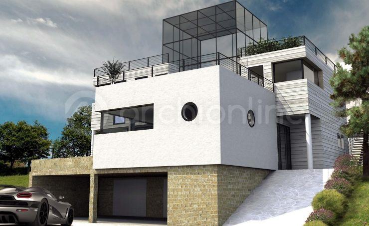 Maison hatrium plan de maison moderne par archionline