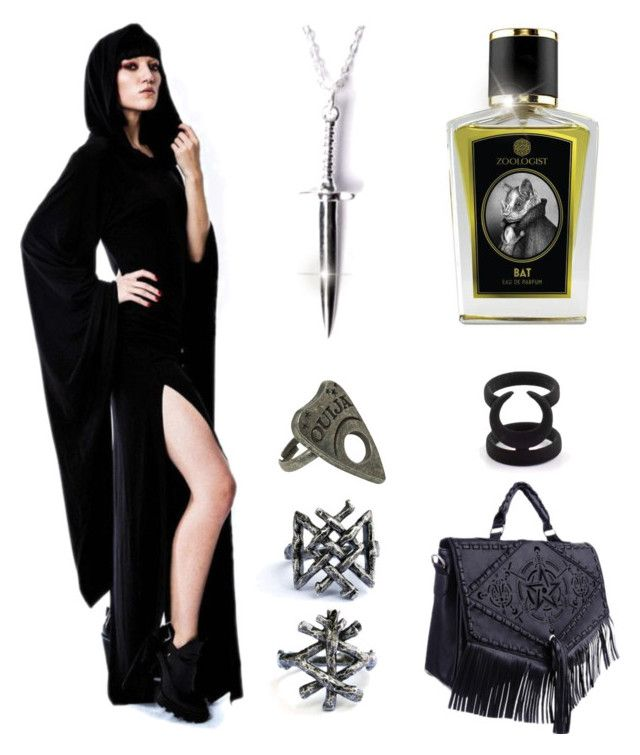 """""""A Dark Scent"""" by ante-panda ❤ liked on Polyvore featuring Disturbia, gothic, Wiccan and fallperfume"""