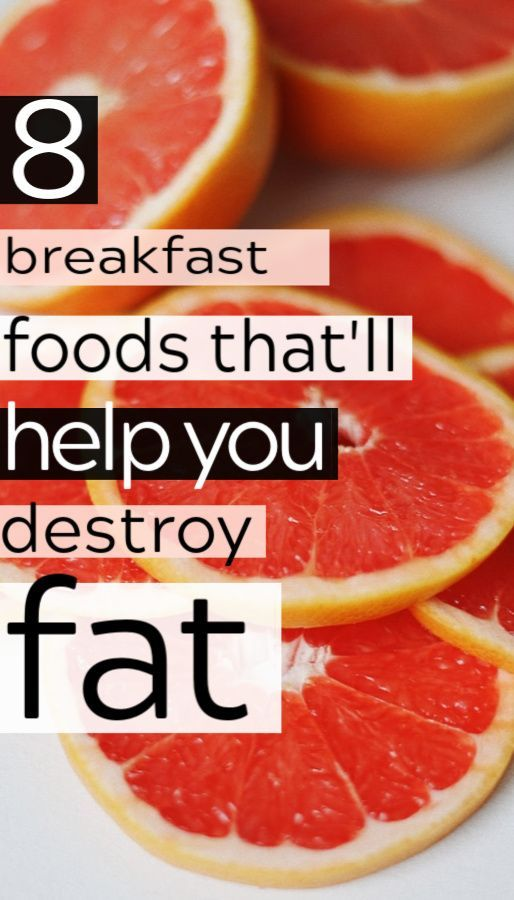 8 Fat-Burning Foods to Eat for Breakfast