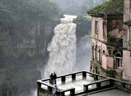 Tequendama Waterfalls, Bogota, Colombia.