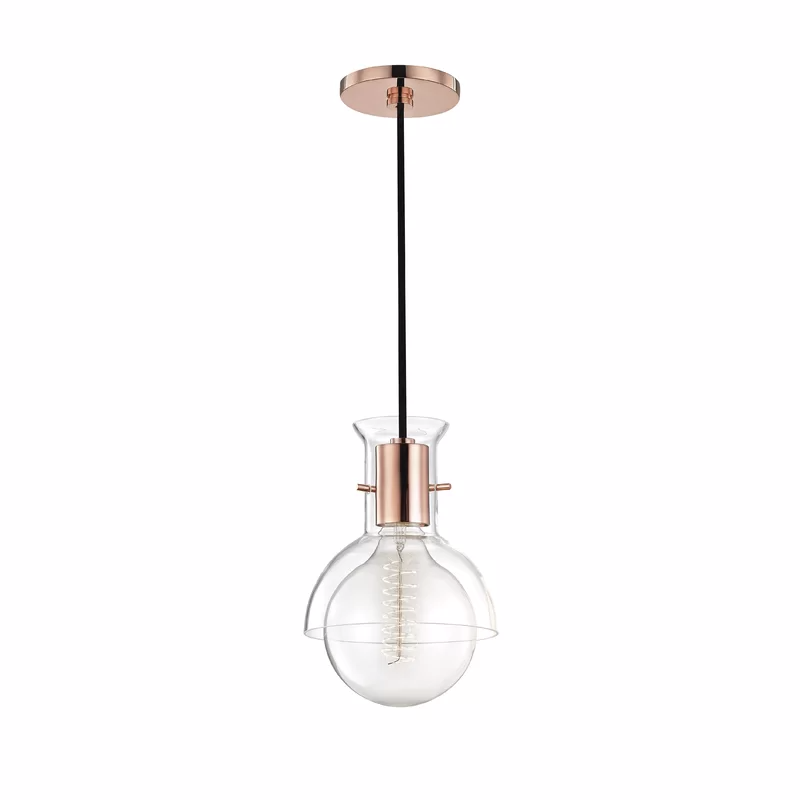 Altamirano 1 Light Single Globe Pendant In 2020 Globe