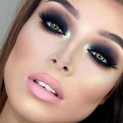 Maquillaje Para La Noche Con Vestido Negro Vestidos