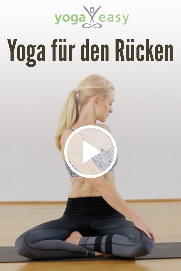 Yoga-Video für den Rücken: Sequenz zur Mobilisierung der Wirbelsäule und zum Entspannen der Rücken-Muskulatur. #pilatesvideo