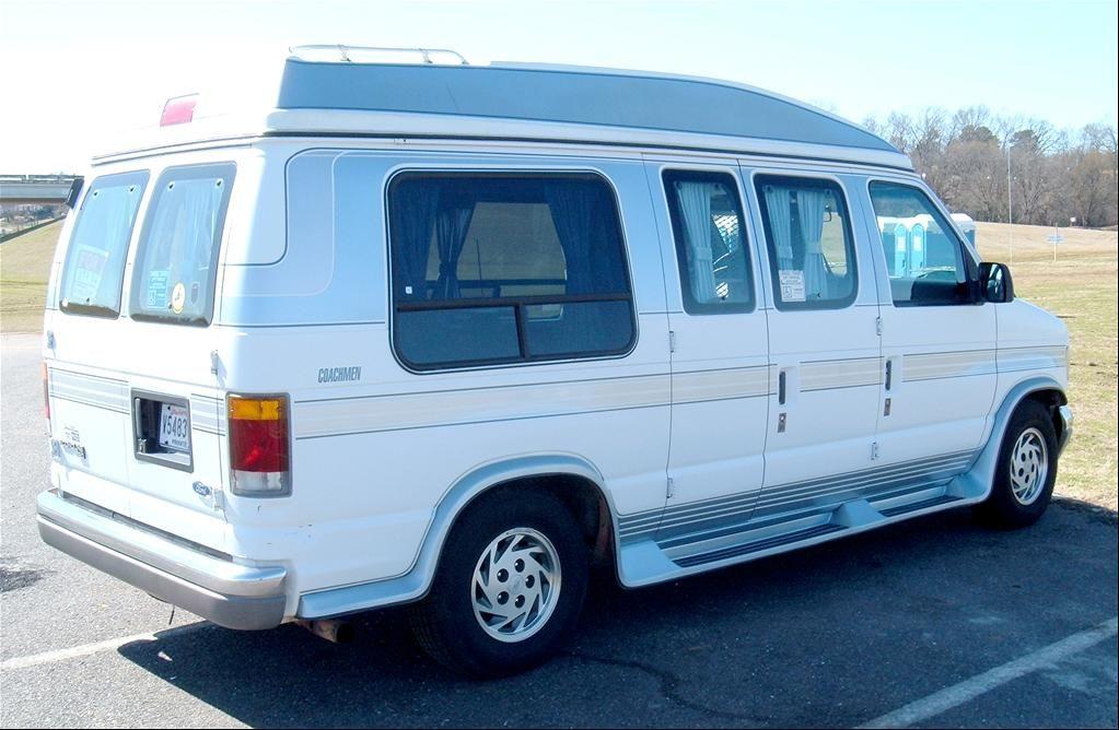 1990 Ford E150 Custom Hightop Extended Roof Vans Ford Trucks