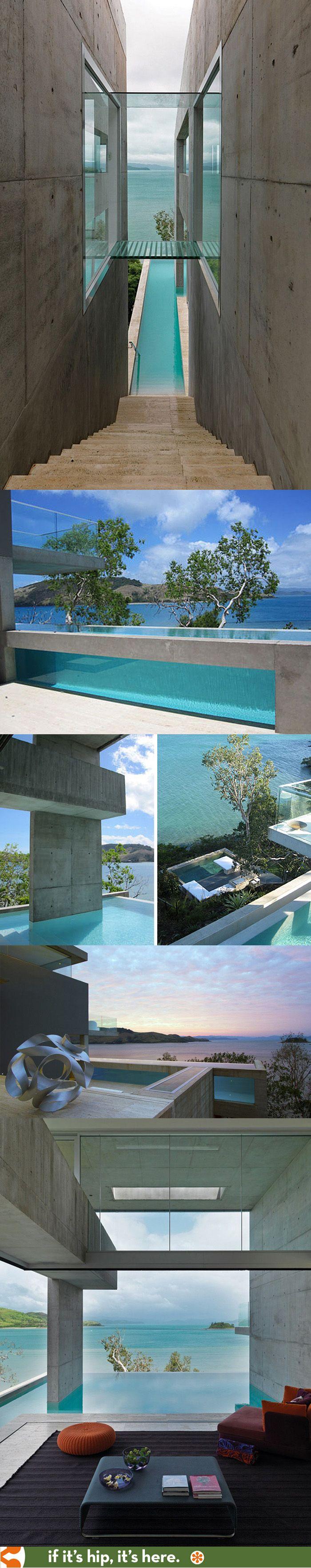 The solis house on hamilton island has a swimming pool for Pool design hamilton