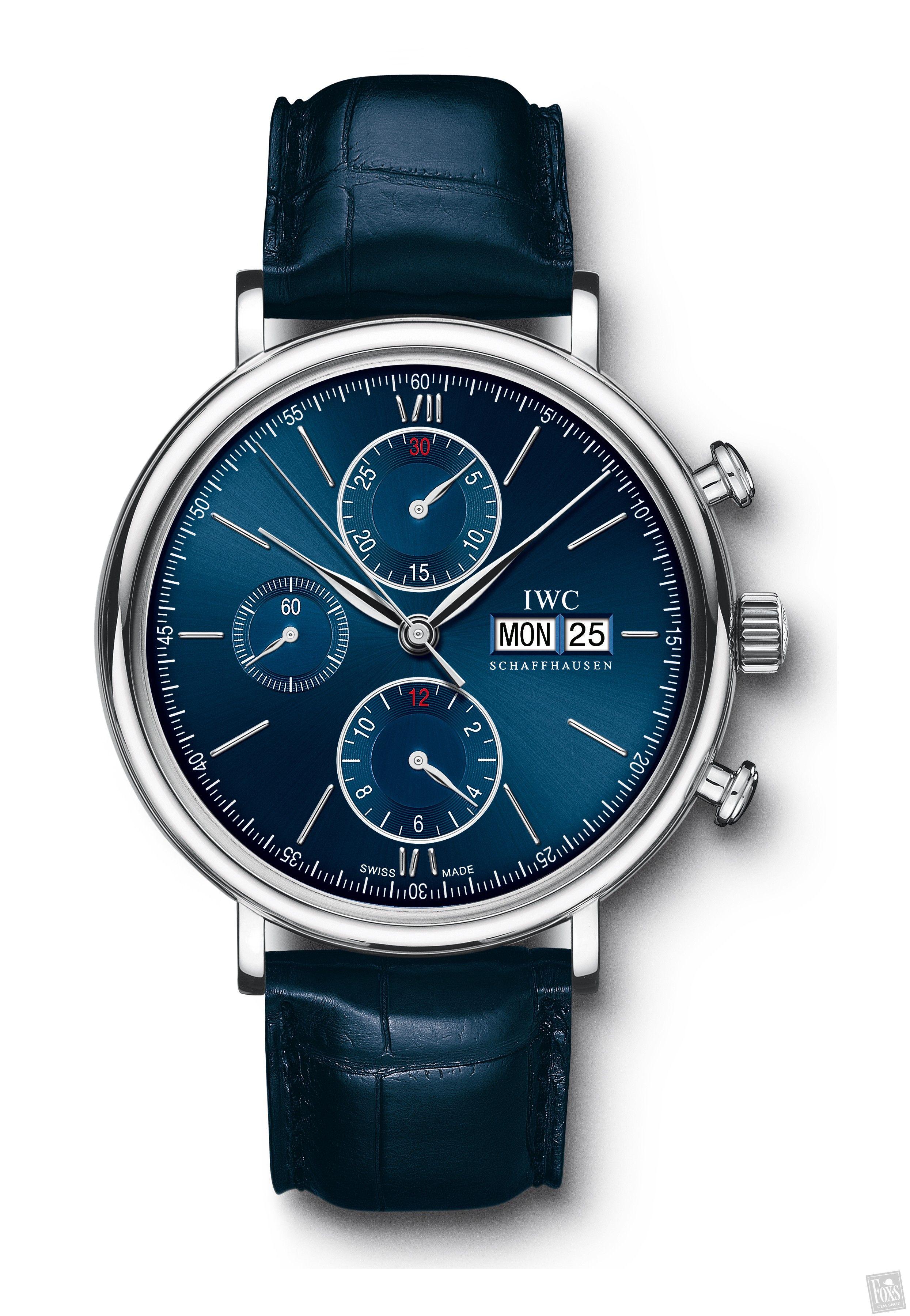 Iwc Portofino Chrono Ed Laureus Sport For Good Fndn Iw391019 Luxury Watches For Men Watches For Men Best Watches For Men