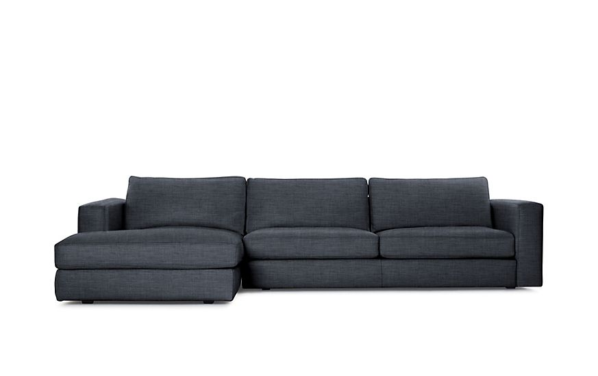 Reid Sectional Design Within Reach Sectional Chaise Reid