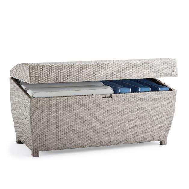 All-weather Wicker Storage Chest  sc 1 st  Pinterest & All-weather Wicker Storage Chest   Lygopoulos Outdoor Furniture ...