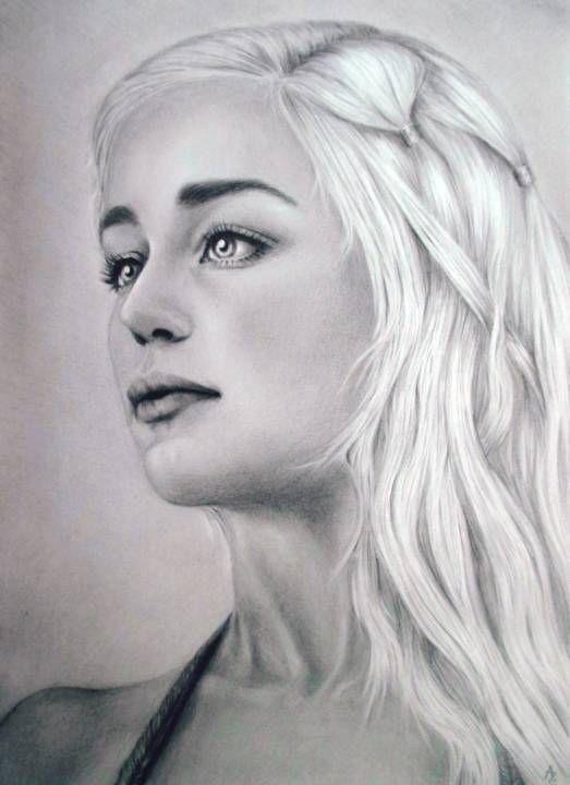 Our Art Corner - Daenerys Targaryen (by Andry)
