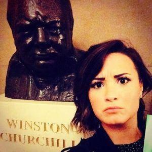 Demi in D.C.