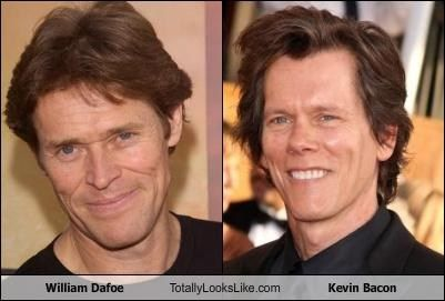 William Dafoe And Kevin Bacon