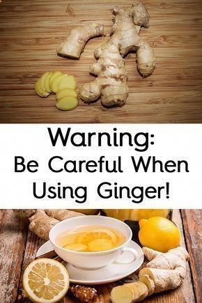 WARNING: BE CAREFUL WHEN USING GINGER! HERES WHEN YOU SHOULDNT CONSUME IT #Health #Health #fitness