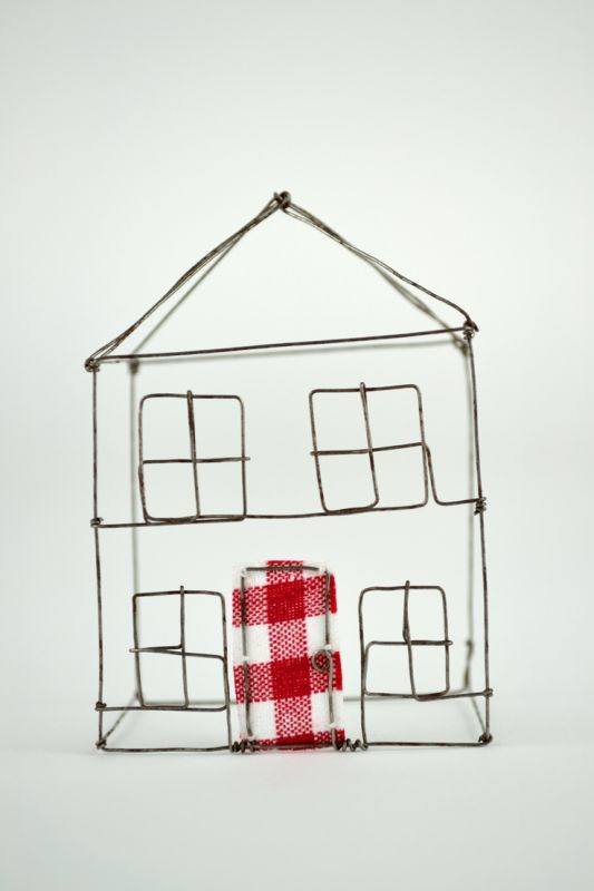 Inspiration: wire house from Made By Hand Online. | De fer ...