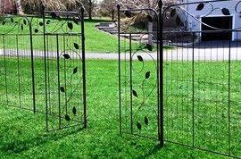 no dig fencing | Decorative Garden Fence