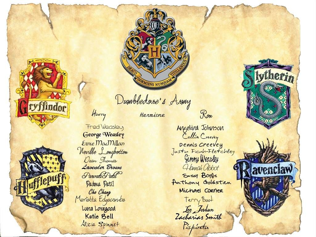 Harry potter candy list dumbledore s army