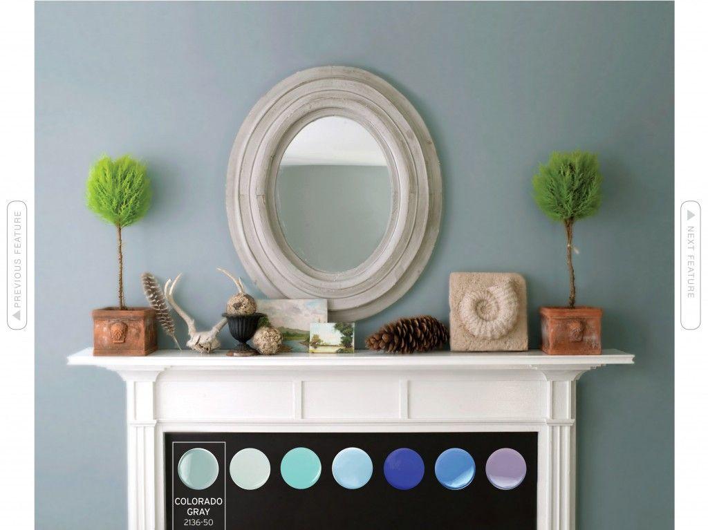Benjamin moore colorado gray 2136 50 paint light to for Light gray benjamin moore paint
