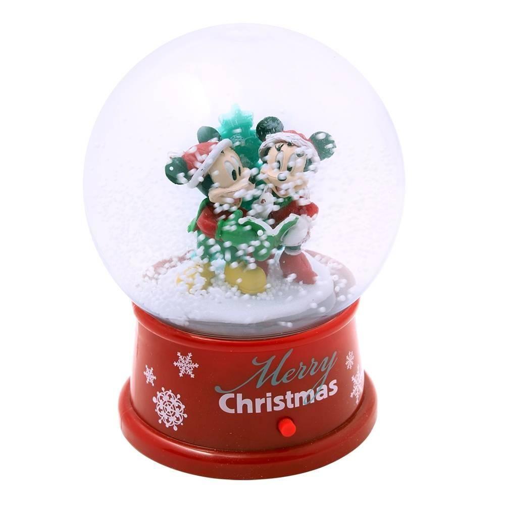 Esfera animada disney merry christmas minnie and mickey pza | Walmart