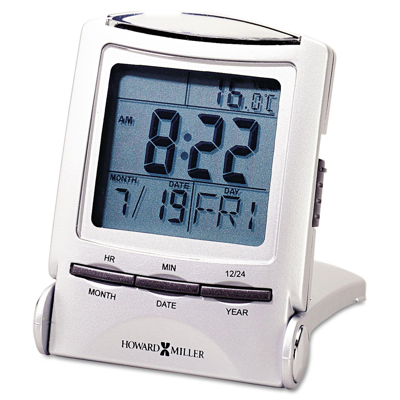 Howard Miller Distant Time Traveler Alarm Clock 21/4inch