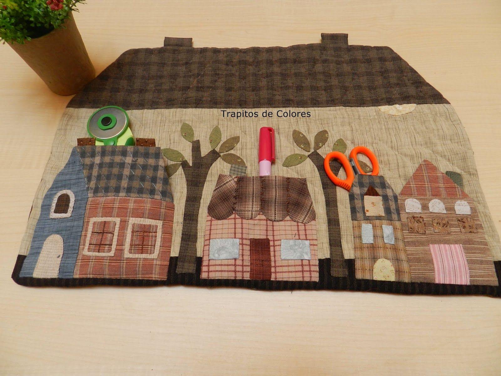 Trapitos de colores patchwork patchwork hogar - Manualidades patchwork bolsos ...