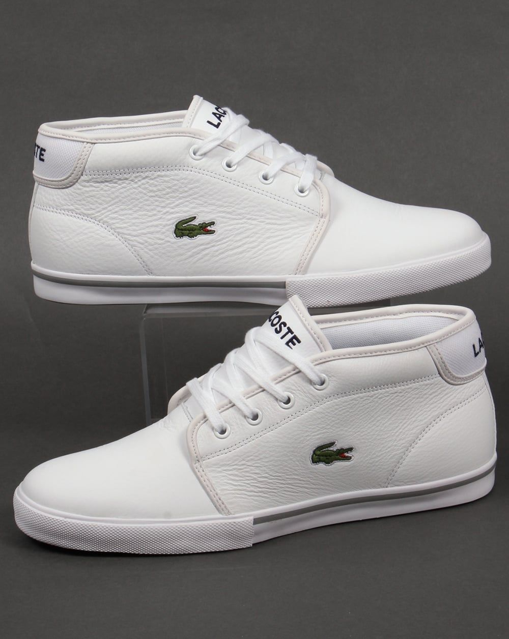 4f2f0d77e6 Pin by Datkin Assyllhan on men's fashion | White casual shoes, Leather  trainers, Lacoste trainers