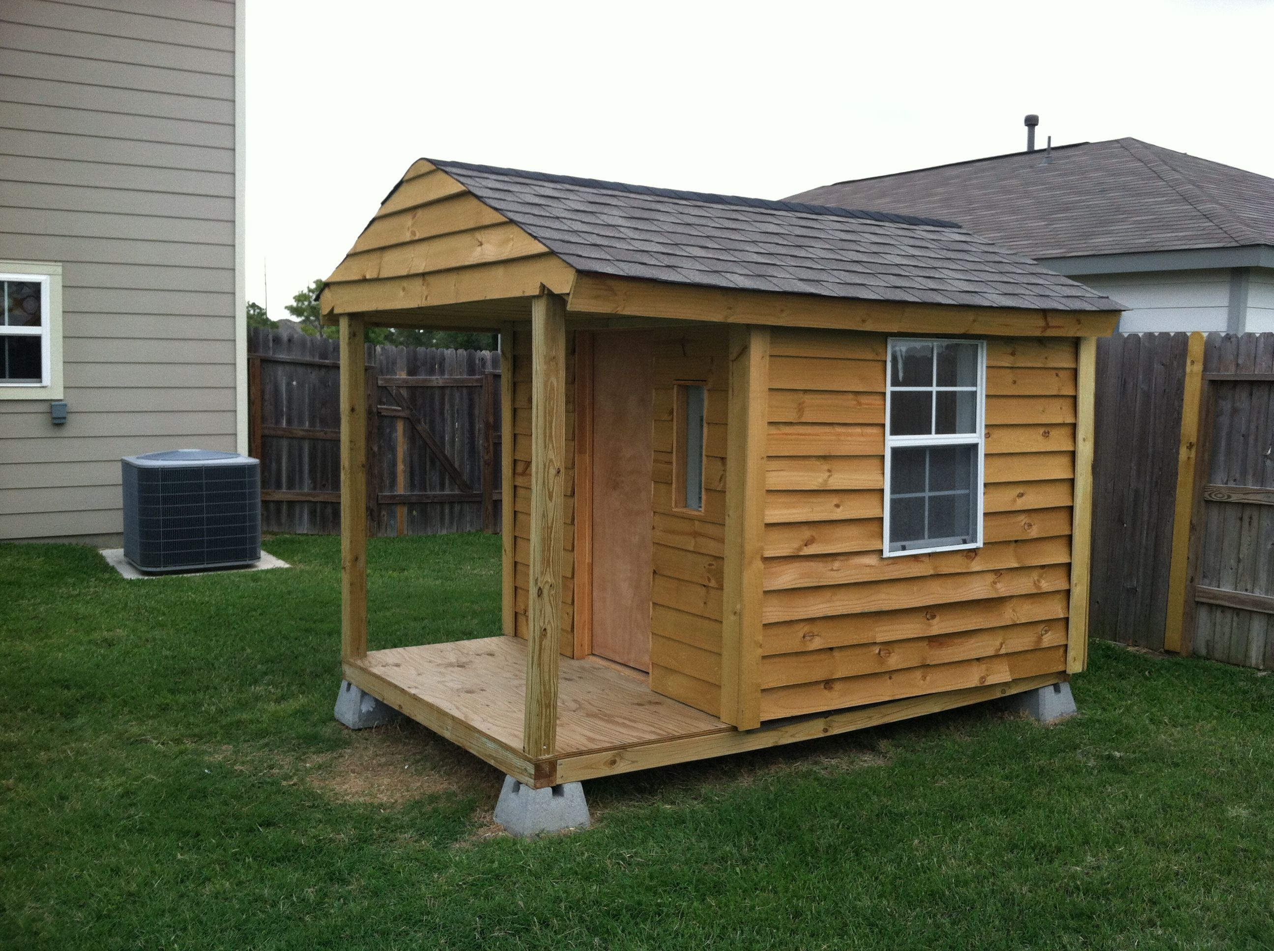 Custom Playhouse And Doghouse Houston Tx Play Houses Little