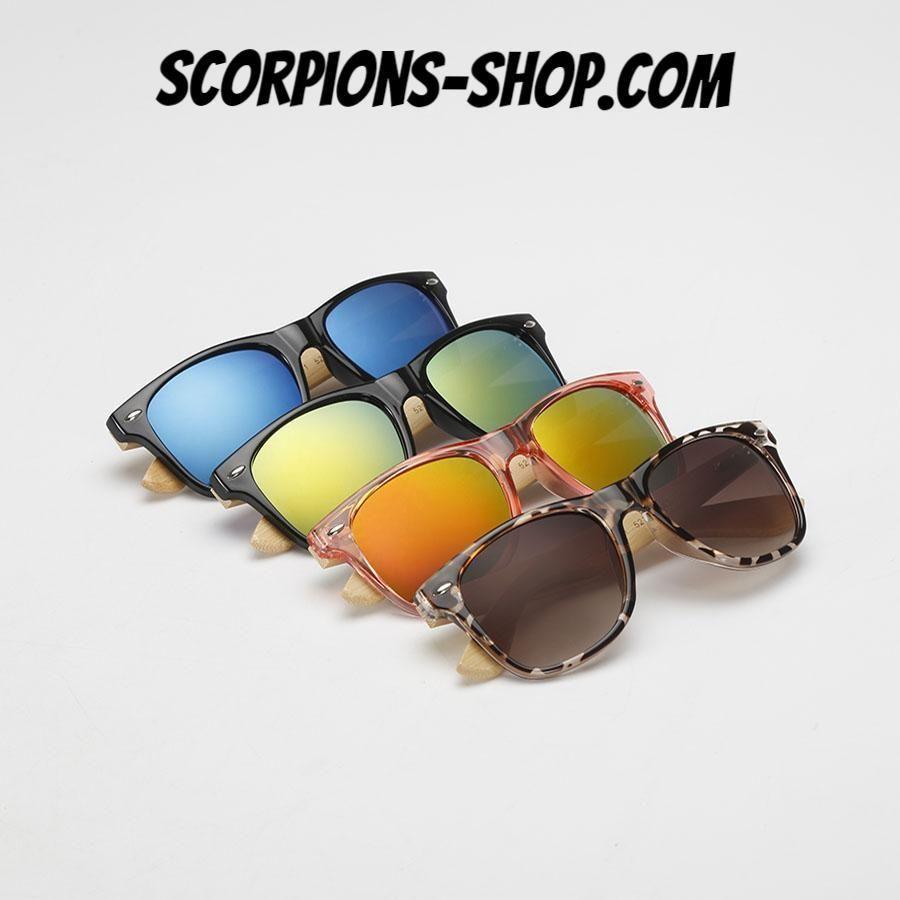 705d5e02295a94 Lunettes de soleil couleurs bambou Femmes 16 modèles au choix ⭐ Plus  d Offres