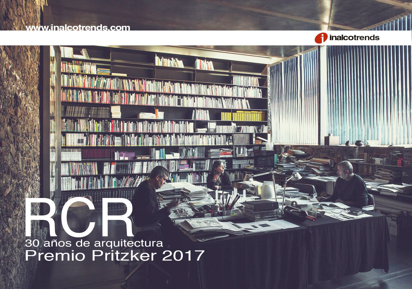 We highlight on Inalcotrends the RCR Architecture Studio in Girona (Spain), awarded with the prestigious Pritzker 2017 Architecture Award.