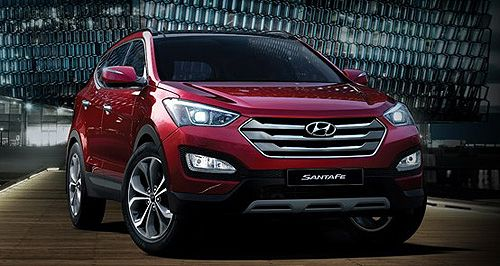 I M Very Impressed By The Look Of The New Hyundai Santa Fe I D