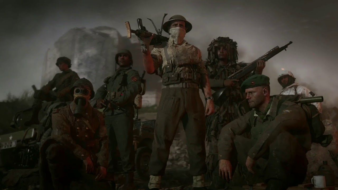 Call Of Duty Wwii Private Multiplayer Beta Trailer Ps4