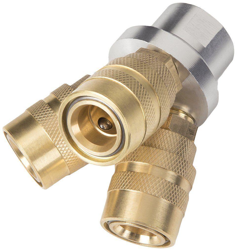 TEKTON 47290 3Way Quick Connect Air Hose Splitter