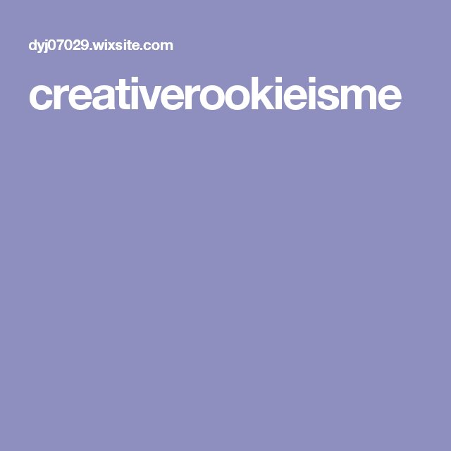 creativerookieisme