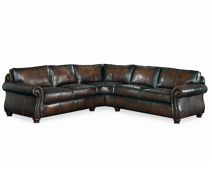 Thomasville Van Gogh Leather Sectional Furniture Nebraska Furniture Mart Sectional