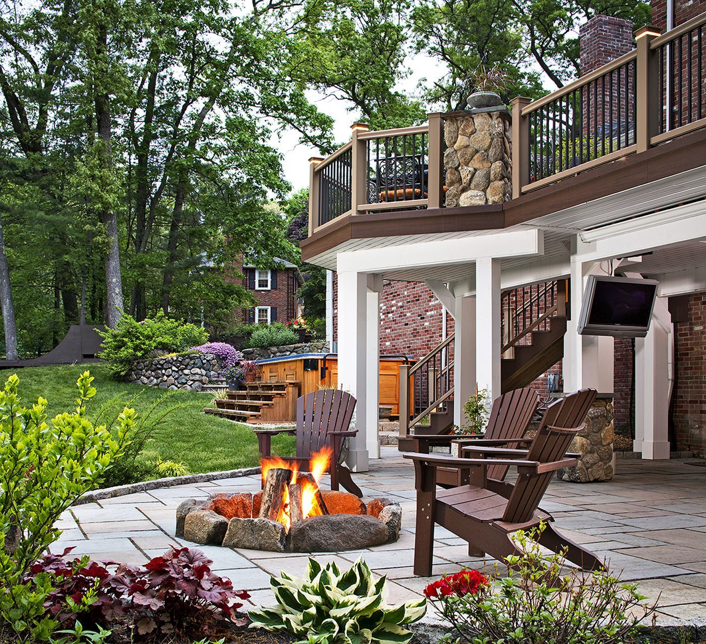 15+ Awesome Simple Patio Decorating Ideas On a Budget ... on Covered Patio Ideas On A Budget id=45158