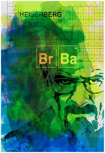 Walter White Watercolor 2 Pôster