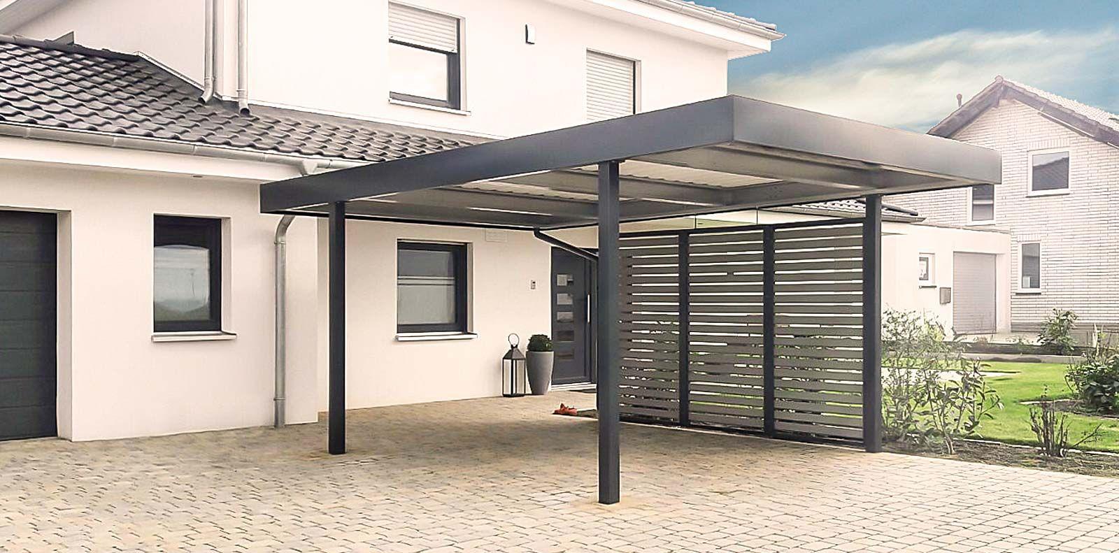Garden shelter ideas home  Der Carport von Siebau modernes Design individuell für Ihr