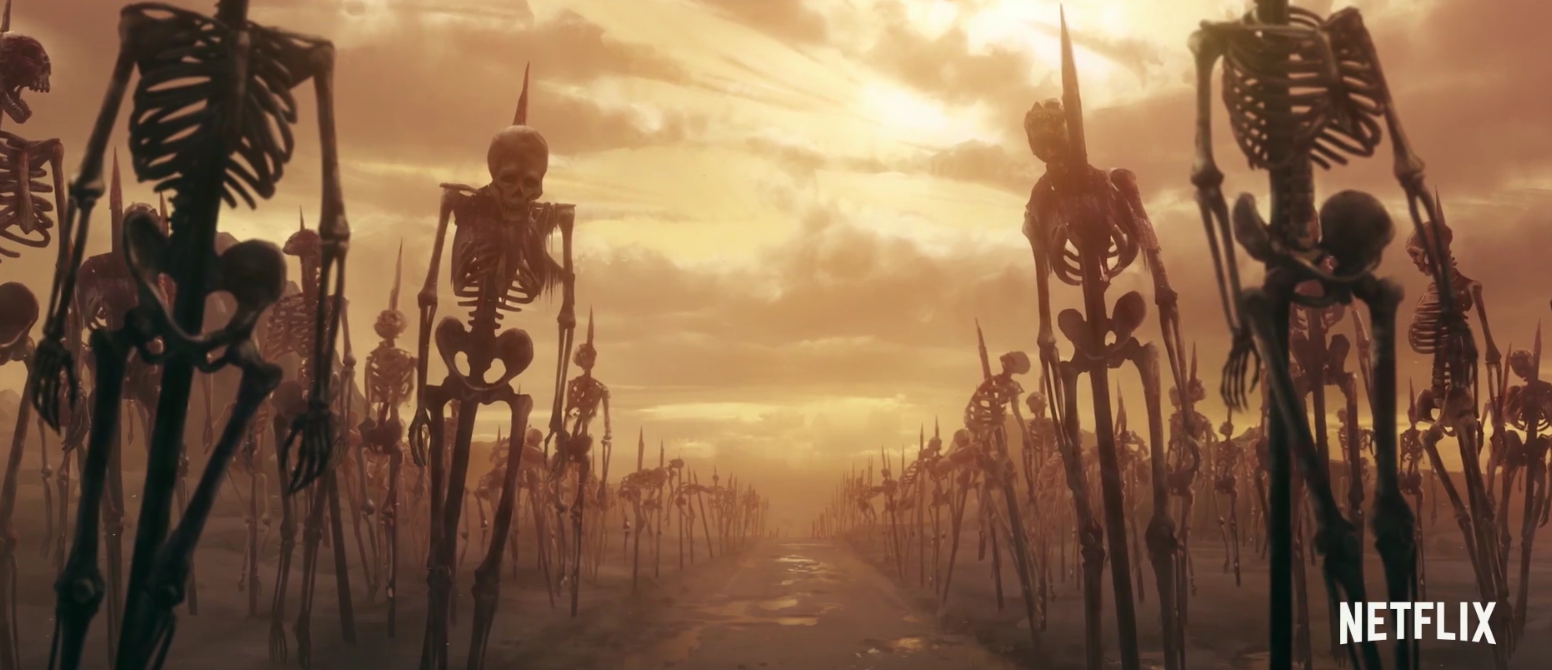 The new Castlevania series on Netflix actually looks good