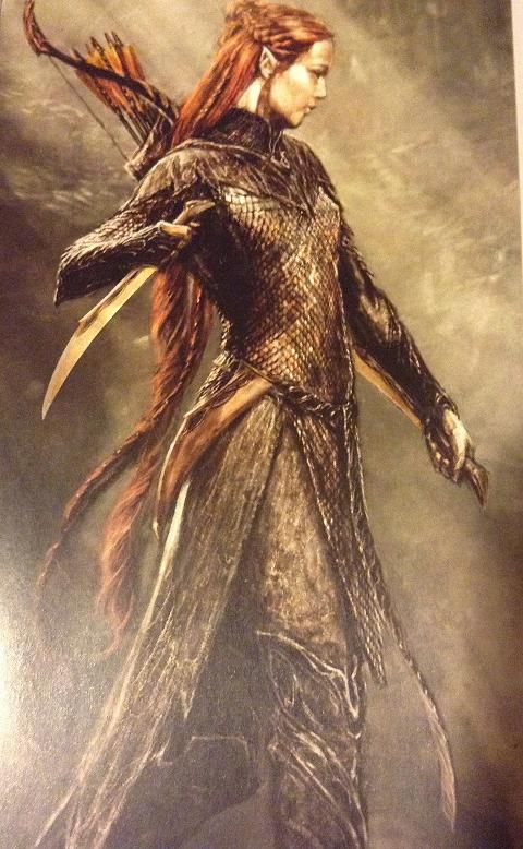 Pretty Books Utopia: Tauriel concept art - Desolation of Smaug