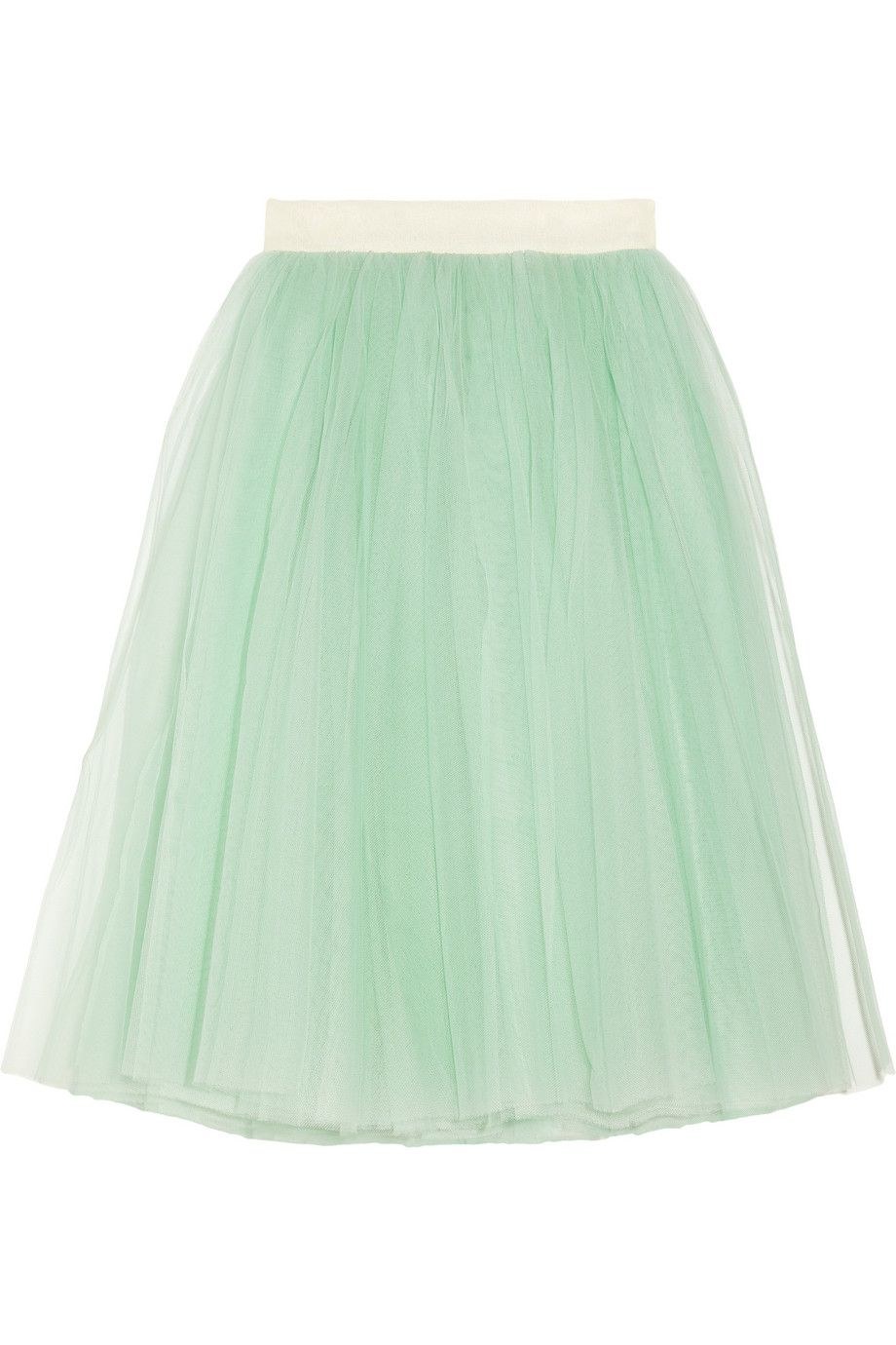 Of course it's already sold out, but this D&G tulle midi skirt is to. die. for. I'm so sad I missed it!!