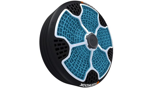 Hankook rolls out airless tire concept