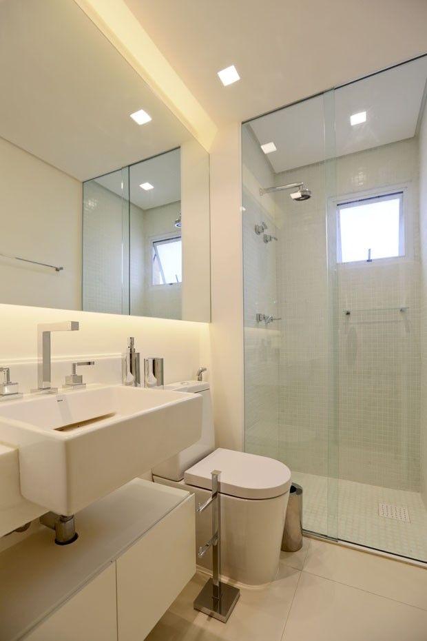 Pelas Paredes Um Rio De Molduras Espelho Banheiro
