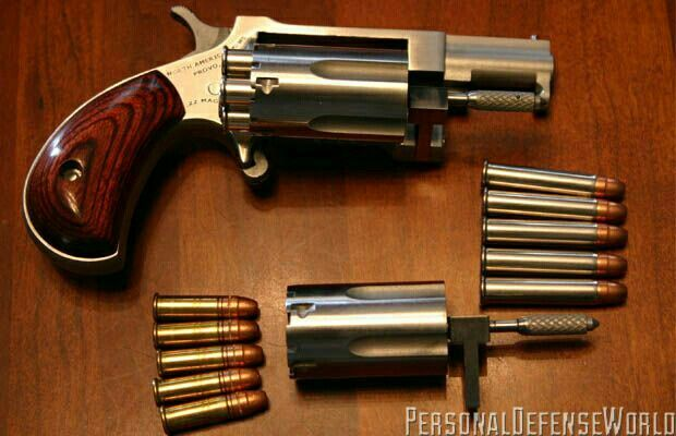 The Underestimated  22 Caliber Round  This North American Arms  22