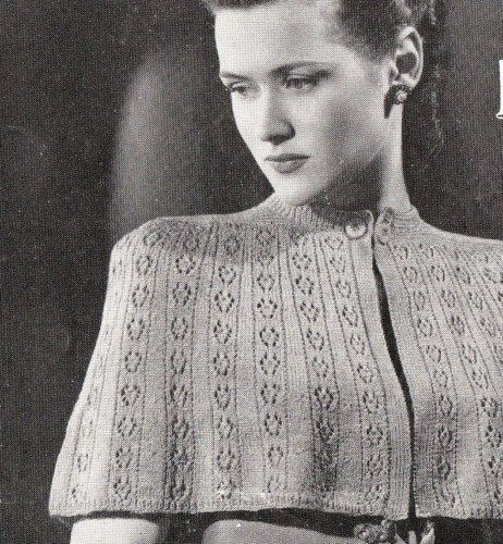 This Is A Vintage Knitting Pattern Sourced And Republished By