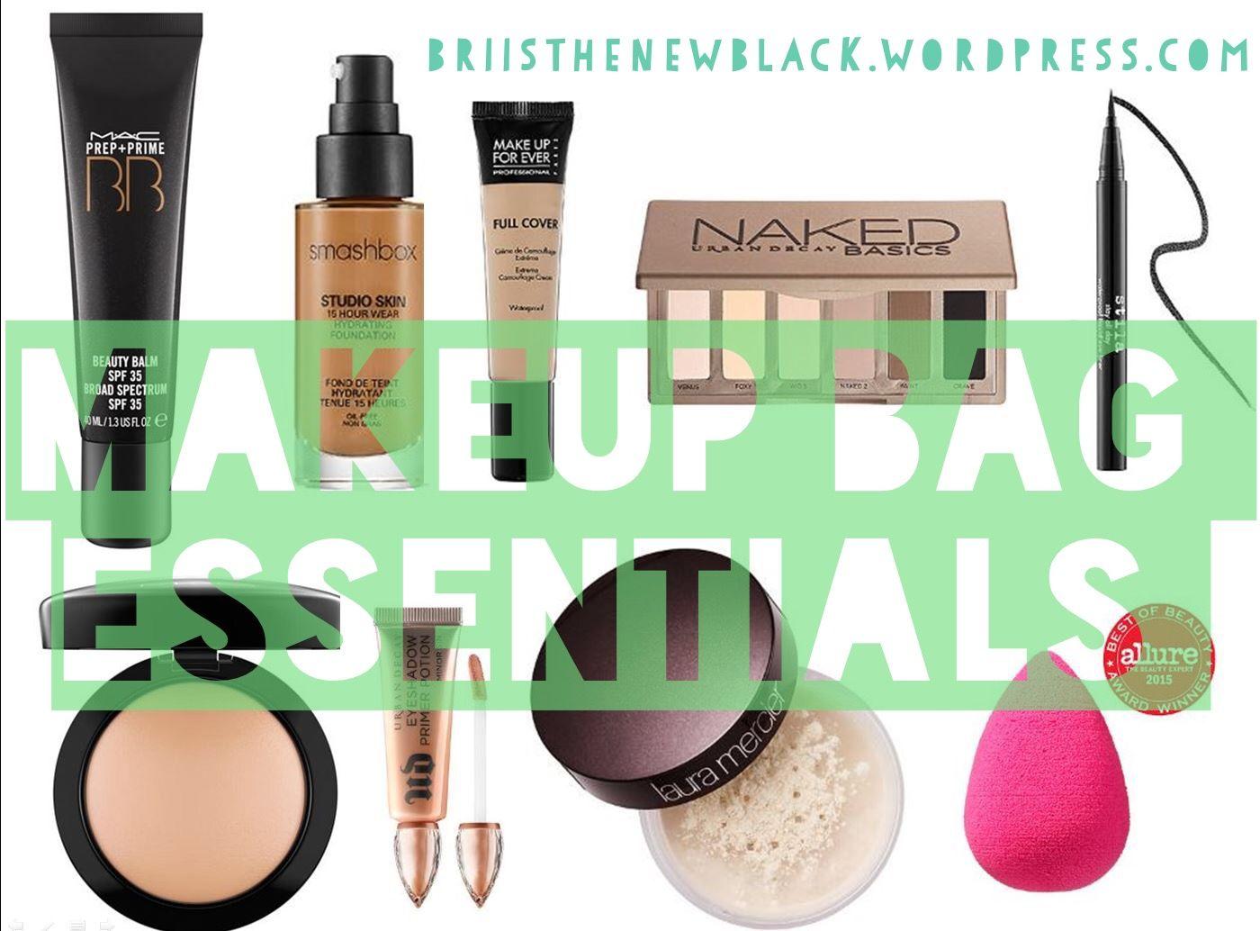in my makeup bag Makeup bag, Makeup bag essentials, Makeup