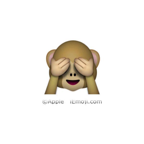 See No Evil Monkey Emoji Monkey Emoji See No Evil