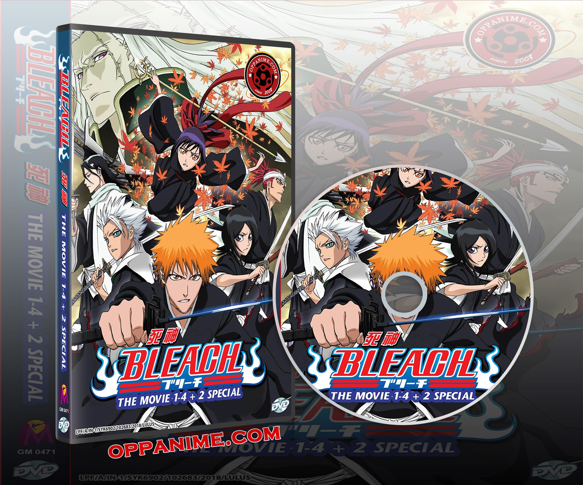 Bleach Anime The Movie Collections 14+2 Special Anime DVD