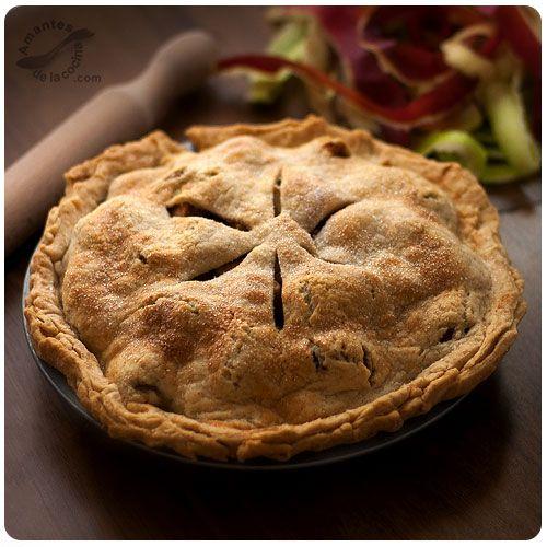 Apple Pie o Tarta de manzana americana Pie de manzana