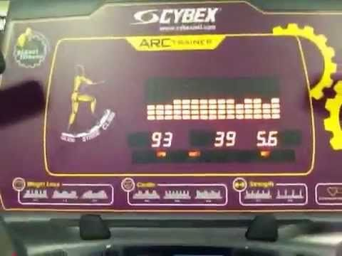 Planet Fitness ARC Trainer exercise machine Low impact with high
