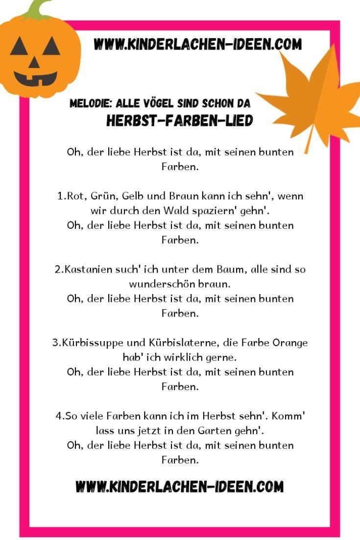 Kinderlied: Herbstfarben #weihnachtendekorationdraussengarten