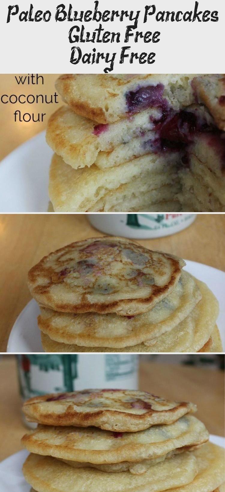Paleo Blueberry Pancakes Gluten Free Dairy Free
